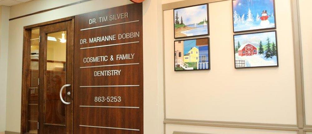 Dr. Tim Silver , Dr. Marianne Dobbin - Silver Dobbin Dental